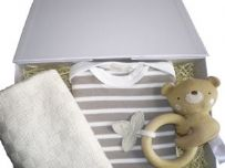 Cat and Fiddle Neutral Baby Gift Box